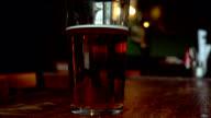 Pint of beer video