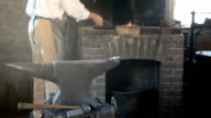 Pioneer blacksmith working P HD 0770 video