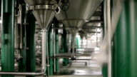 Pipes at a beer plant video