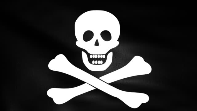 Pirate flag video