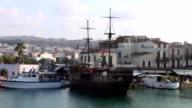 Pirate Ship, Rethymno video