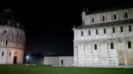 Pisa Square Of Miracles By Night video