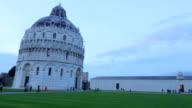 Pisa tower pan tile video