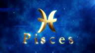 Pisces (Zodiac Air Sign) | Loopable video