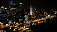 Pittsburgh Night Timelapse video