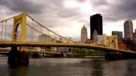 Pittsburgh Pennsylvania Downtown City Skyline Allegeny River video