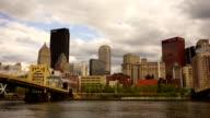 Pittsburgh Pennsylvania Downtown Urban City Skyline Monongahela River video