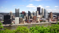 Pittsburgh Pennsylvania Downtwon Urban City Skyline Monongahela River video