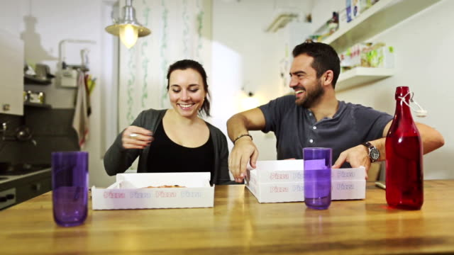 Pizza is at home!! video