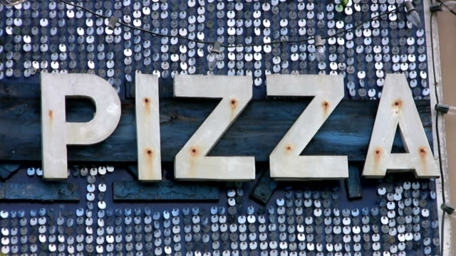 Pizza Sign (HD 1080p30) video