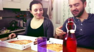 Pizza's night at home! video