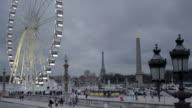 Place de la Concorde, Paris, France video