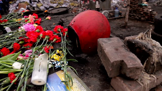 Place of dead revolutionaries. video