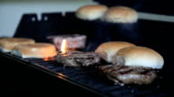 Placing Buns on the Grill video