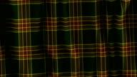 Plaid Tartan Scottish Material video