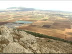 Plains of Megiddo in Israel video