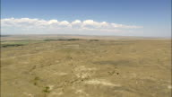 Plains West Of Billings  - Aerial View - Montana, Stillwater County, United States video