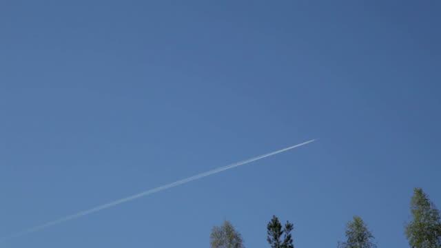 Plane in Sky video