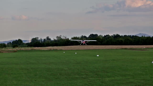 plane is landing video