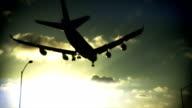 Plane Lands 01a video