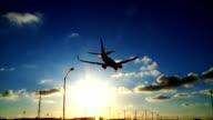 Plane lands 04a video
