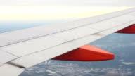 Plane over landscape video