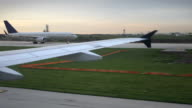 Planes on Runway video