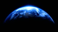 Planet Earth Dramatic Fit Width Loop on Stars video