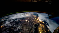 Planet Earth seen from the ISS. Elements of this video furnished by NASA. video