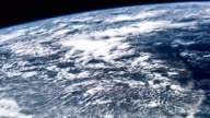 Planet Earth seen from the the International Space Station ISS. Beautiful Planet Earth observed from space. Nasa time lapse shooting earth from space. Elements of this video furnished by NASA video