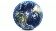 Planet Earth With Correct Rotation 1080p video