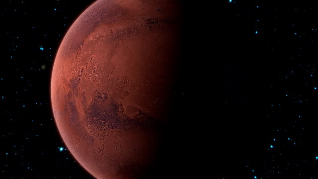 Planet Mars video