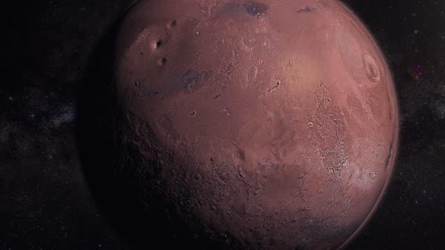 4K Planet Mars video