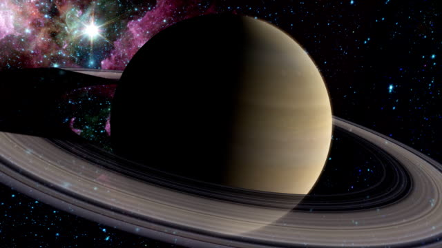 Planet Saturn video