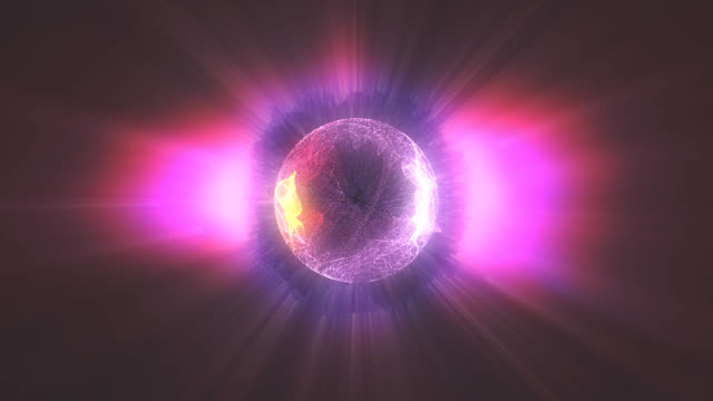 plasma ball red video