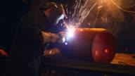 Plasma gas welding video