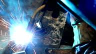 Plasma welding video