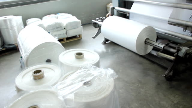 Plastic Bag Factory video