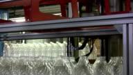 Plastic bottle production unit video
