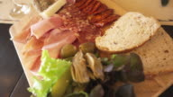 platter of cold cuts video