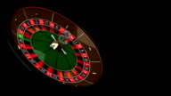 Play the roulette, HD, Loop/Cycle video