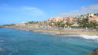 Playa del Duque in south of Tenerife island. video