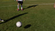 Player About To Kick Ball video