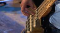 HD: Playing A Bass Guitar video