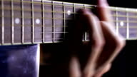 Playing Acoustic Guitar in Studio video