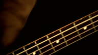 Playing bass guitar video