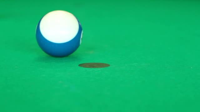 Playing Billiard video
