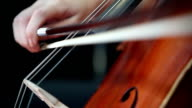 Playing cello. video