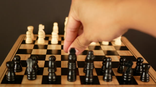Playing chess video