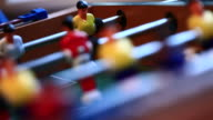 Playing Foosball video